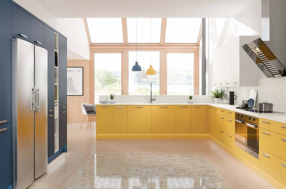 Getting started: How to choose colours for your kitchen
