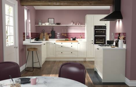 Pretty in pink: How to design a pink kitchen
