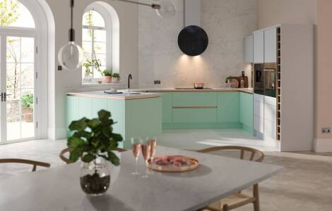 How to update your kitchen with pastel colours