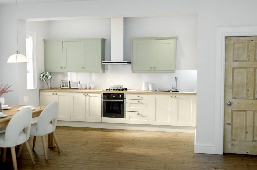 How To Design A Sage Green Kitchen Wren Kitchens