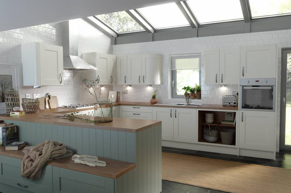 For a country cottage kitchen