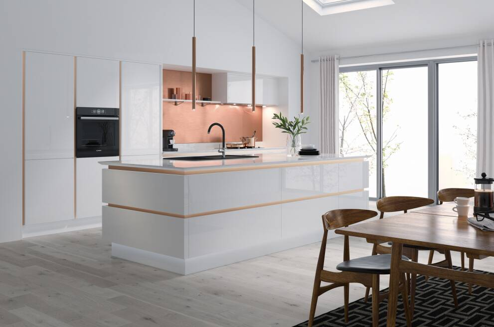 How To Add Copper Gold Or Brass To Your Kitchen Wren Kitchens