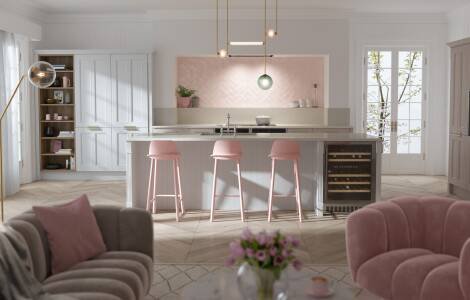 How to embrace the coral trend in your kitchen