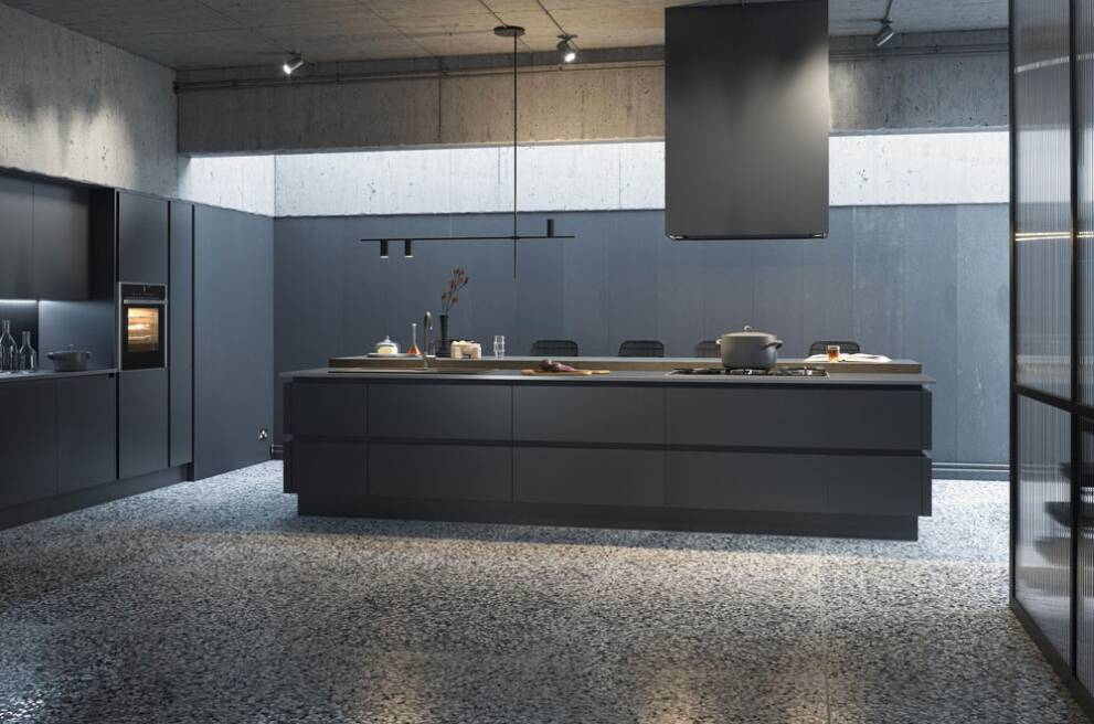 How do handleless kitchens work?