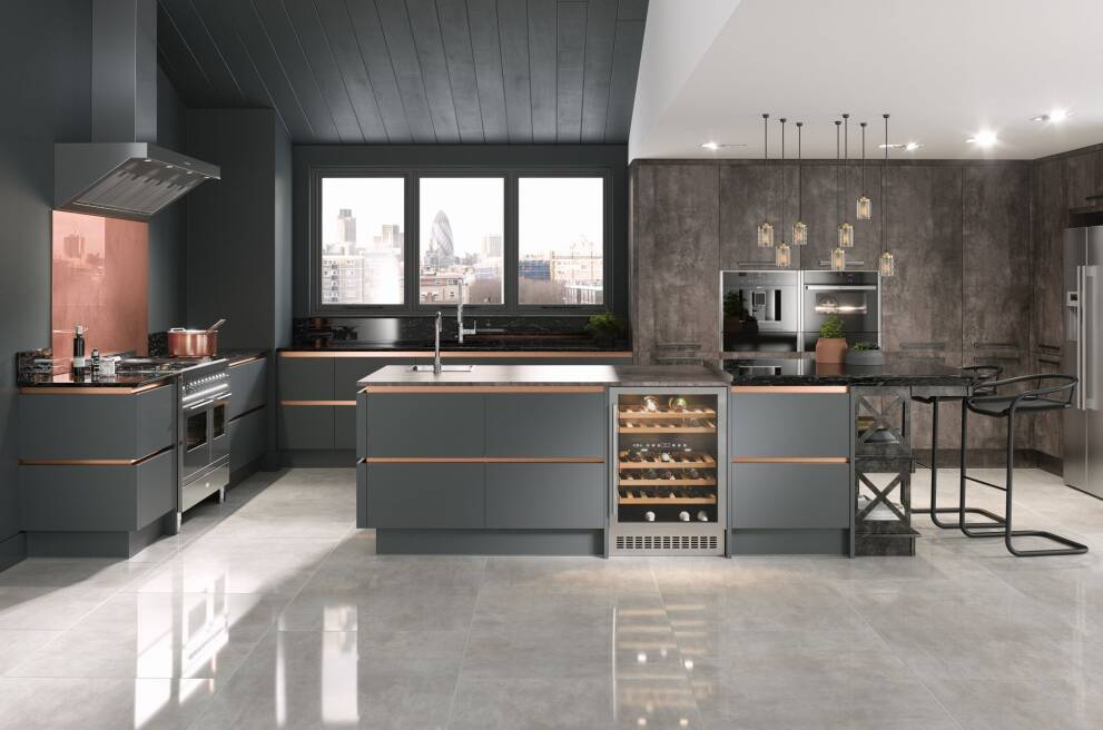 Getting Industrial With Kitchen Designs Wren Kitchens
