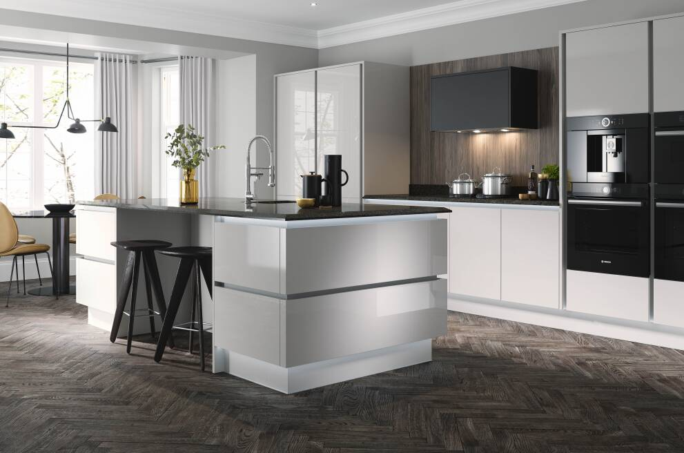 7 ideas for creating an ultra-modern kitchen | Wren Kitchens on Images Of Modern Kitchens  id=63674