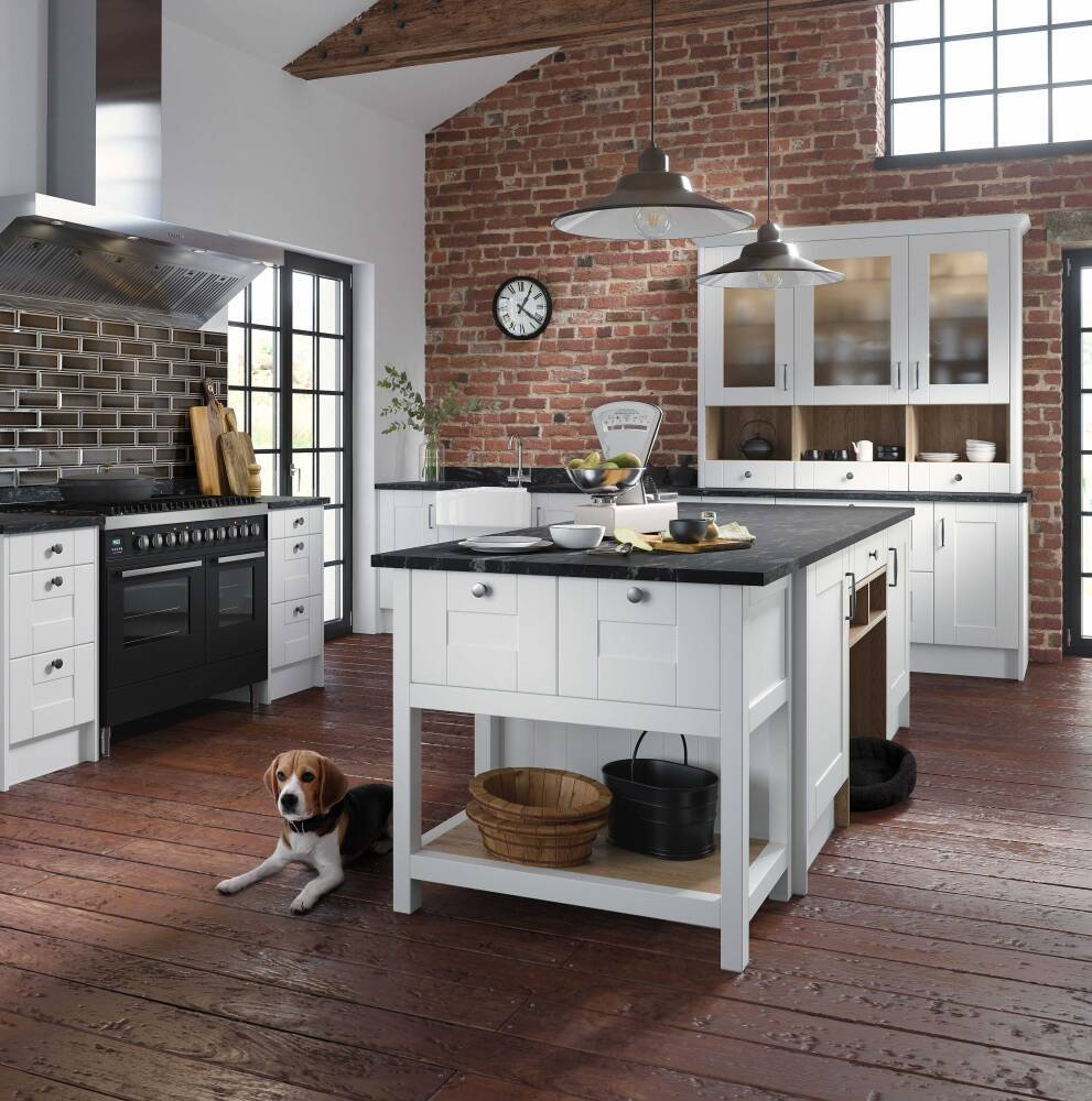 Best flooring materials for kitchen islands