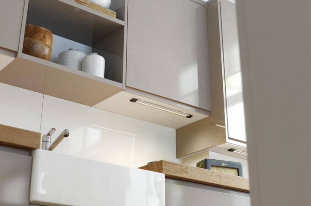 Where to install under cabinet lighting