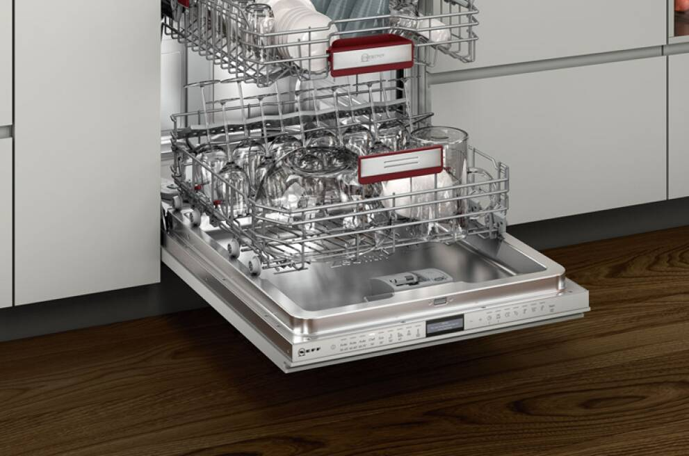 How to add an integrated dishwasher into a small kitchen