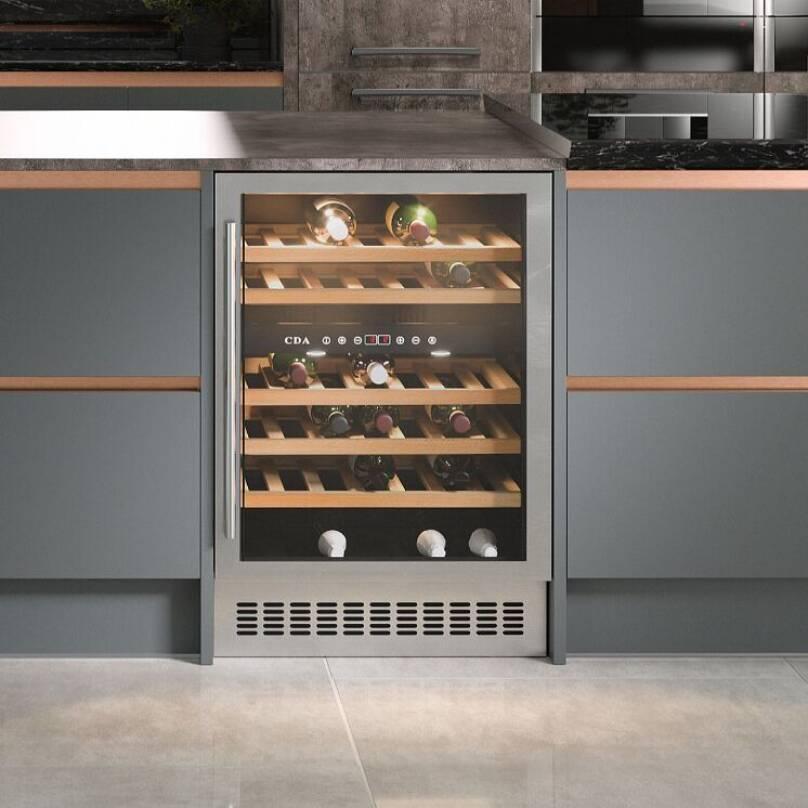 4 ways to add wine storage to your kitchen   Wren Kitchens