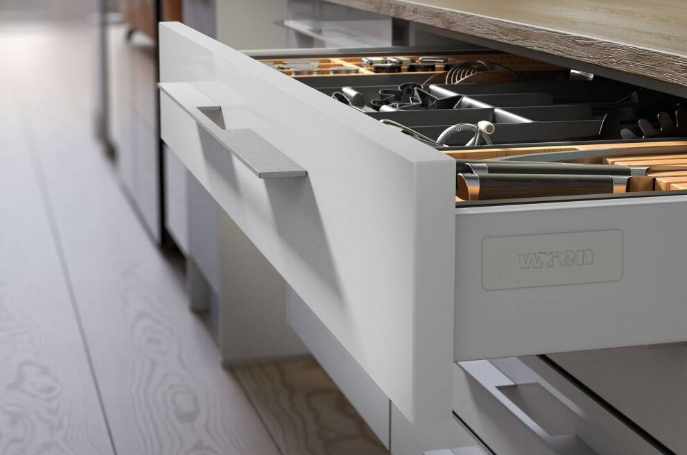 Redesign your drawers