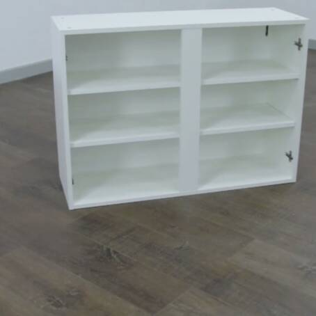 1000mm 2 Door Wall Unit