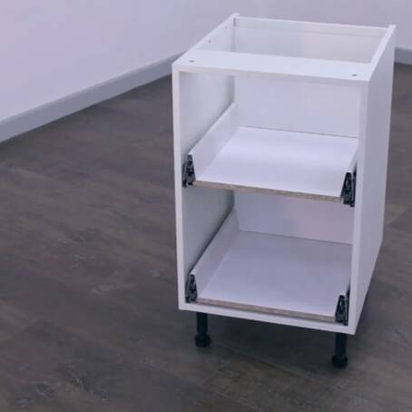 500mm 2 Drawer Base Unit