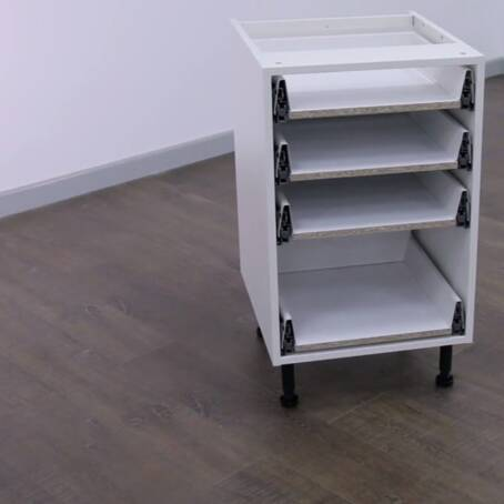 500mm 4 Drawer Base Unit