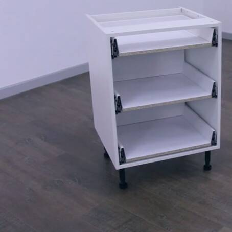 600mm 3 Drawer Base Unit