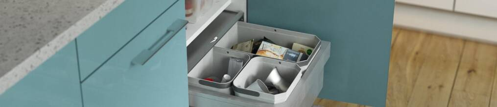 Kitchen bins and recycling
