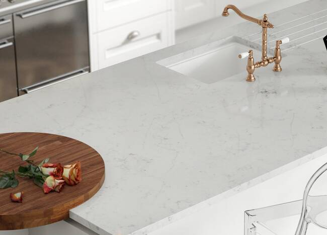 Gemini Quartz® worktops