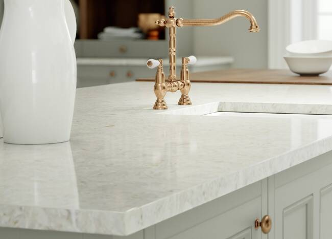 Quartz Worktops & Countertops | Quartz Surfaces | Wren Kitchens