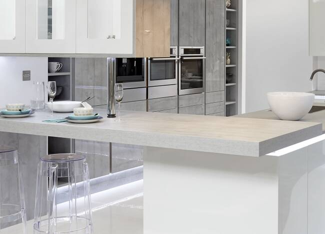 Laminate Kitchen Worktops | Laminate Countertops | Wren Kitchens