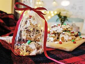 Gingerbread White Chocolate Rocky Road